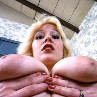 haengende titten